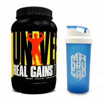 Real Gains (1727g) Universal Nutrition + Multishaker Grátis