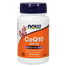 Coq 10 100mg (50caps) Now Sports