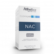 N-Acetyl L-Cysteine (60caps) Atlhetica Nutrition