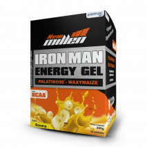 Iron Man Gel (10 Sachês de 30g) New Millen-Banana