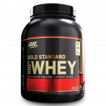 100% Whey Protein (5lb/2270g) Optimum Nutrition-Double Rich Chocolate (Dobro Chocolate)