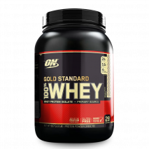 100% Whey Protein (1.9lb/900g) Optimum Nutrition-Rocky Road (Chocolate com Amendôas)
