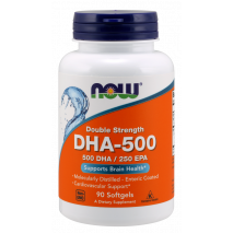 DHA 500mg (90caps) Now Sports