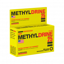 Methyldrene 25 ECA Stack (60 Hexagonal Tabs) Clone Pharma