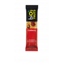Barra 7 Nuts Cranberry (25g) BiO2