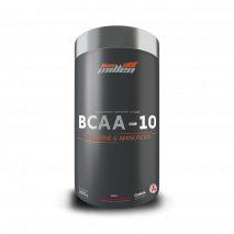 BCAA-10 Glutamine & Aminoacids (300g) New Millen-Hibisco com Cranberry - 50% OFF
