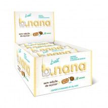 B.nana Coco com Chocolate Branco Display (12unid-35g) B-Eat