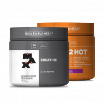 Ultimate 2HOT (200g) + Creatina Titanium (100g) Max Titanium