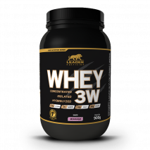 Whey 3W (900g) Leader Nutrition