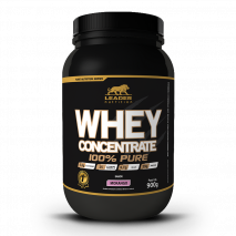 Whey Concentrado 100% Pure (900g) Leader Nutrition