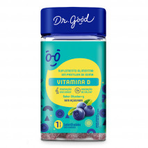 Vitamina D Adulto (60gomas) Dr. Good - 30% OFF