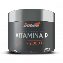 Vitamina D (30caps) New Millen