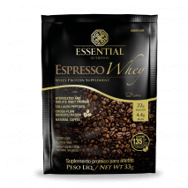 Espresso Coffe Whey (Sachê-33g) Essential Nutrition